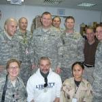 Aaron Tippin in Iraq