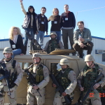 Little Big Town in Afghanistan - 2004