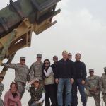 Steve LIttle, Karri Turner, Karen Maruyama, Jordan Black, Shawn Meyer, Michael Hitchcock and Dave Price in Kuwait in 2013