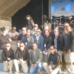 Gary Sinise with PSD in Kuwait in 2012