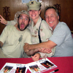 Bo Bice and Jackie Martling - Iraq, 2008